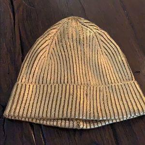 Zara gold hat